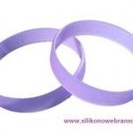 UV Werbe Silikonarmbänder